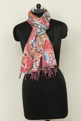 Indian Cotton Kantha Scarfs