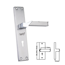 SS Mortise Handle with CY and  KY LOCK