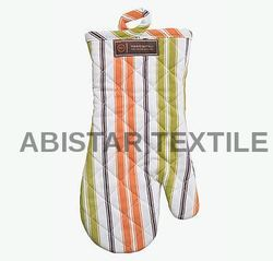 Striped Oven Gloves