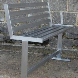 Stainless Steel Backed Bench