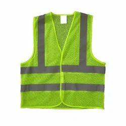 Fluorescent Safety Jacket