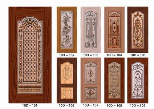 & Door Skin - 3D Door Skin Paper Print Manufacturer from Ahmedabad