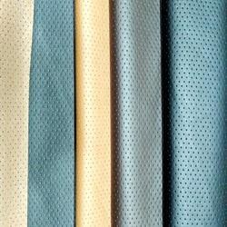 Perforated Leather Fabric