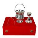 Brass Wine Set