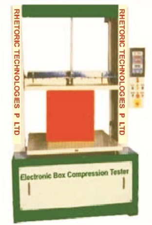 Microprocessor Based Box Compression Tester