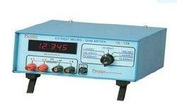 prestige electronics 4 5 digit micro ohm meter 1a pe 11r