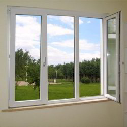 Aluminium window in pune maharashtra aluminum window suppliers dealers retailers in pune for Fenetre rectangulaire horizontale