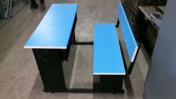 Class Room Bench & Chair - 4 Seater