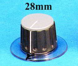 Plastic Collet Knobs 28mm