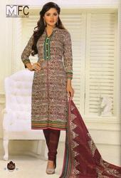 Cotton Printed Suit