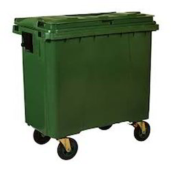 Four Wheel Dustbin Container