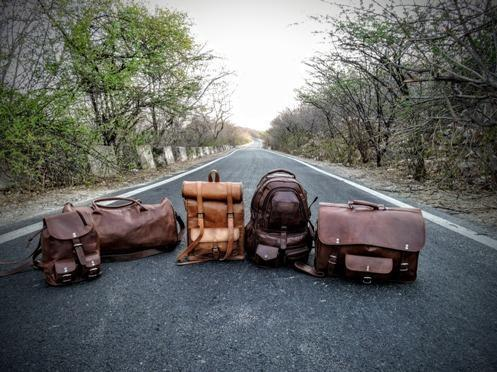 Rustic Leather Bags