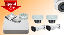 UNV 1.3MP IP Cameras Kit