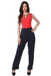 Jumpsuit - Red Navy