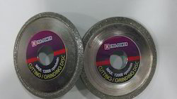 C Groove,  V Groove Disc for Glass