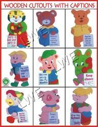 Wooden Cutouts - Kids Toys