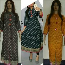 Long Cotton Kurtis