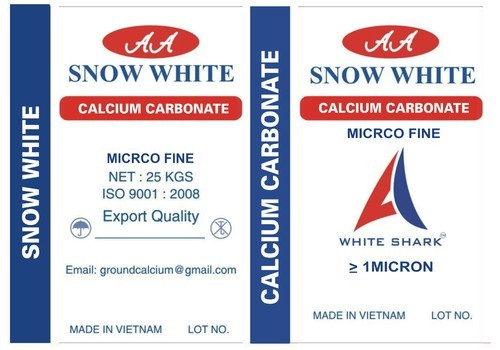 Natural Calcium Carbonate Vietnam