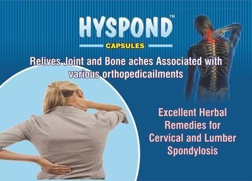 Herbal /Ayurve Capsule for Spondylitis, Cervical Spondylosis