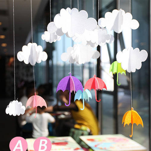Зонтики на стену из бумаги своими руками 95