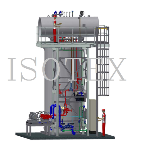 Oil and Gas Fired High Pressure Steam Generator