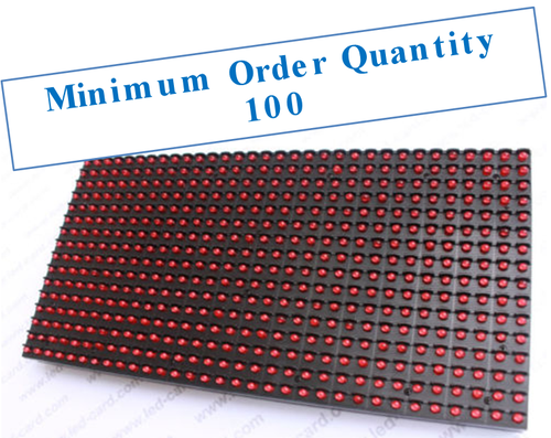 Single Red P10 LED Display Module