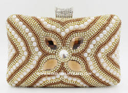 Handcrafted Beaded Clutch Purse
