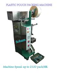 Plastic Pouch Packing Machine