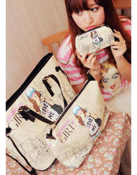 Girl Gang 3 Pc Ladies Fashion Bags