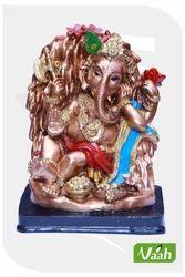 Vaah Resin Painted Ganesha Statues