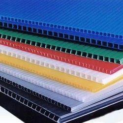 Coloured Corrugated Sheet
