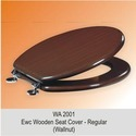 EWC Wooden Seat Cover Regular Walnut