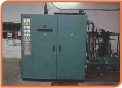 induction furnace panel