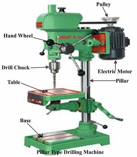 Drill Machine Spare Drill Machine Pulley Manufacturer