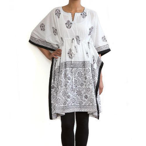 Cotton Printed Kaftan