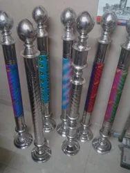 Stainless Steel Rajwadi Pillar