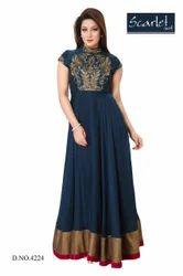 Designer Georgette Anarkali Suit