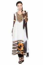 Designer Beautiful Printed Pakistani Style Long Kurti