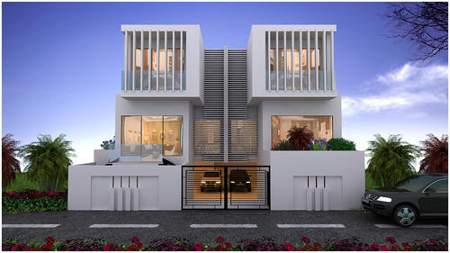 Small Home Design & Simplex House Design Service Provider from Indore