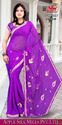 Embroidered Ladies Sarees