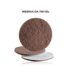 Velour-Backed Abrasive Web