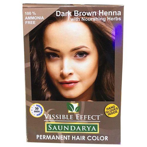 Herbal Henna Hair Dark Brown Dye