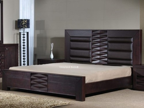 Double bed designs in wood joy studio design gallery for Bed design photos