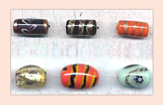 Handmade Lamp Work Beads FLWB-08
