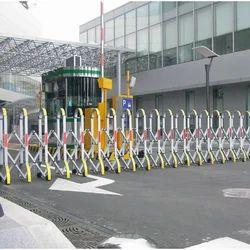Motorized Retractable Gate