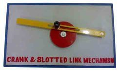 Crank and Slotted Link Mechanism - Model