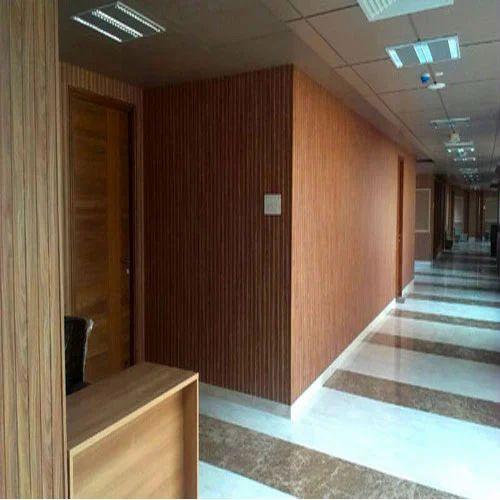 Teak Wood PVC Panel