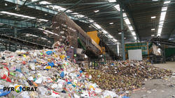 Municipal Solid Waste Segregation Plant
