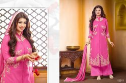 Rosy Pink Palazzo Suit