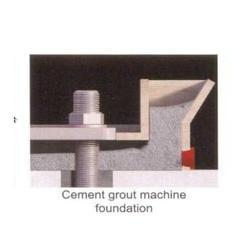 Cement Grout Machine Foundation